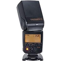 YONGNUO YN568EX III Sans Fil TTL Maître Esclave Flash Speedlite 1/8000s Sync Haute Vitesse Soutient USB pour Nikon DSLR Caméra + NAMVO Diffuseur