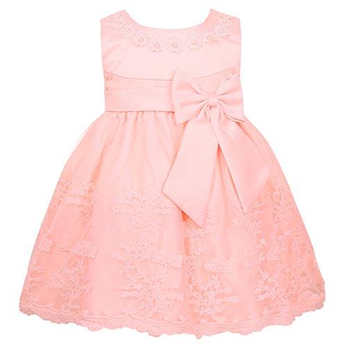 iEFiEL Baby Kleid Mädchen festlich Taufkleider Prinzessin Hochzeit Kleider Blumenmädchenkleider...