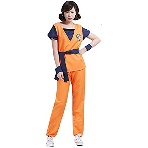 Conjunto Suit Ropa Traje De Goku Uniforme Bola De Dragón Cosplay Para Hombre Chicos - # 2, XL