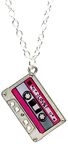 Bluebubble HEY DJ Tape Necklace With FREE Gift Box