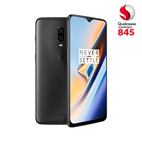 Foto OnePlus 6T, 8 GB RAM, 128 GB Memoria, Nero (Midnight Black)