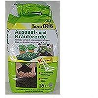 Sustrato extrafino para la siembra y el cultivo de hortalizas y de plantas aromáticas, paquete de 15 litros