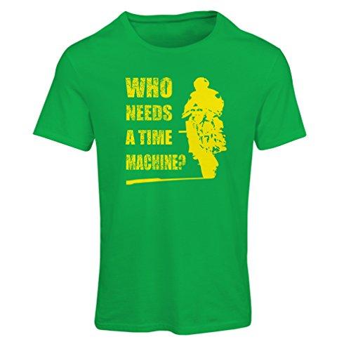 lepni.me Maglietta Donna Abbigliamento Moto (Small Verde Multicolore)
