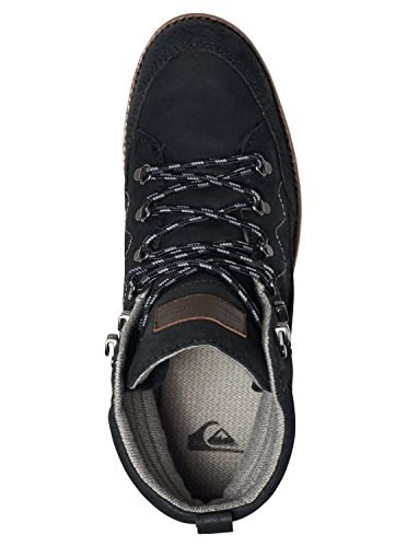 Quiksilver Acllas - Boots en Cuir pour homme AQYB700017 Noir - Black/Black/Brown