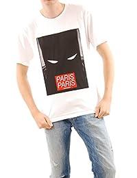 Eleven Paris `s de los Héroes Blanco Camiseta Talla M Nuevo con Etiquetas de manga corta