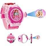 Emartos Barbie 24 Images Projector Digital Kid's Watch (Pink)