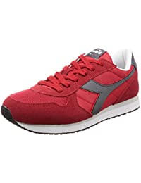 Diadora K Run II Sneaker Uomo Rosso Rosso Carminegrigio Castello 42.5