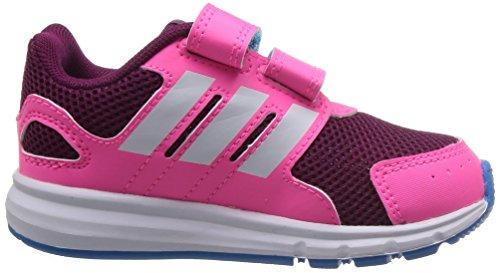 adidas Lk Sport Cf I, Baskets Basses Mixte Enfant Rose - Rosa / Burdeos