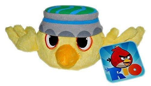 """Angry Birds - Rio - Nico Yellow Bird Plush - 12.7cm 5"""""""
