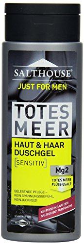 Salthouse Murnauer Just for Men Haut&Haar Duschgel, 6er Pack (6 x 250 ml)