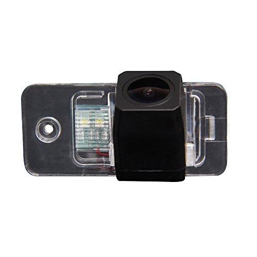 Kalakass Caméra de Recul Voiture en Couleur Kit Caméra vue arrière de voiture Imperméable IP67 avec large Vision Nocturne pour A6 A6L C6 C7 S6 4F 4G A8 A8L S8 D4 4H Audi Q7