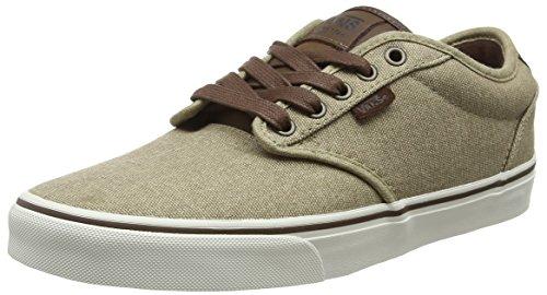 Vans Herren Atwood Deluxe Sneakers, Beige (T&L Khaki/Marshmallow), 42 EU