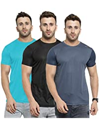 AWG - All Weather Gear Men's Regular fit T-Shirt (Pack of 3)