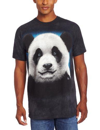 Panda Head - Panda/Pandagesicht - Erwachsenen T-Shirt von The Mountain Multi