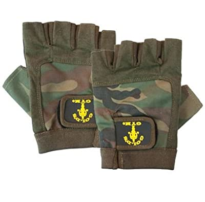 Golds Gym GG-G270 Camouflage Junior Glove by Golds Gym