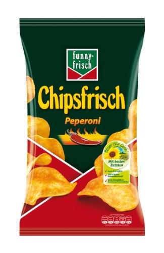 Funny-Frisch Chipsfrisch Peperoni, 5er Pack (5 x 175 g)