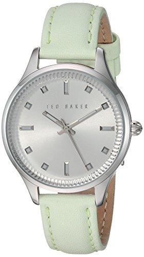 Ted Baker Women's 10025268 Classic Analog Display Japanese Quartz Green Watch