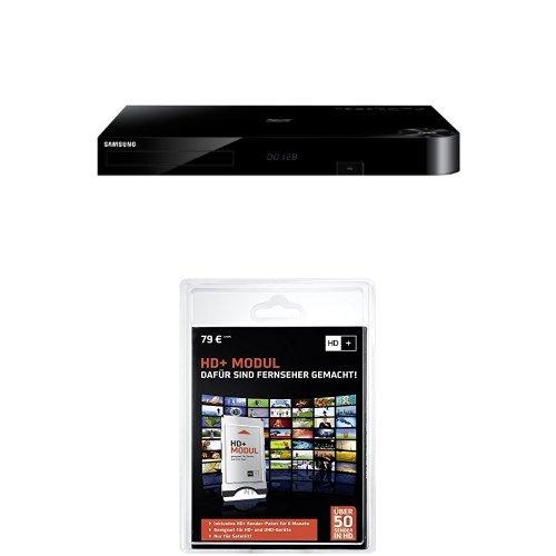 Samsung BD-H8909S HD-Recorder und Satelliten Receiver mit Twin Tuner und 3D Blu-ray Player (1TB HDD, UltraHD Upscaling, 2x DVB-S, 2x CI+, WLAN, Smart TV) schwarz + HD Plus Modul inkl. HD+ Sender-Paket für 6 Monate gratis