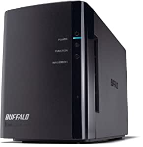 Buffalo LS-WX4.0TL/R1-EU Link Station Duo NAS-System mit Festplatte 4TB
