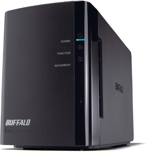 Buffalo LS-WX2.0TL/R1-EU Link Station Duo NAS-System mit...