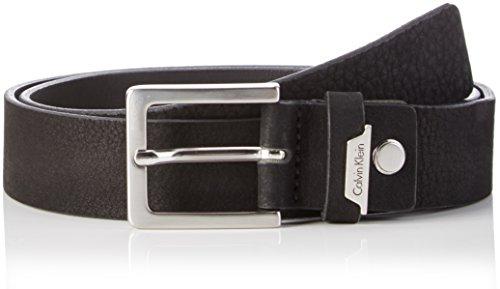 Calvin Klein Basic Adjustable, Cintura Uomo, Nero (001), 100 (Taglia Produttore)