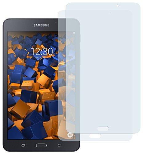 Preisvergleich Produktbild 2 x mumbi Schutzfolie für Samsung Galaxy Tab A 2016 (7 Zoll) 17,8 cm Folie Displayschutzfolie (nur für Tab A 7.0 OHNE Telefonfunktion)