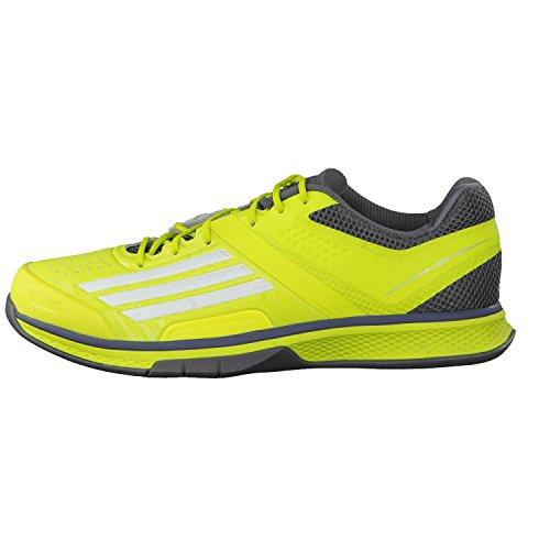 adidas  Adizero Counterblast, Chaussures de Handball homme Jaune/noir (semi solar yellow/ftwr white/vista grey s15)