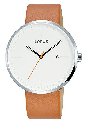 Lorus Reloj Analogico para Hombre de Cuarzo con Correa en Cuero RH901JX9