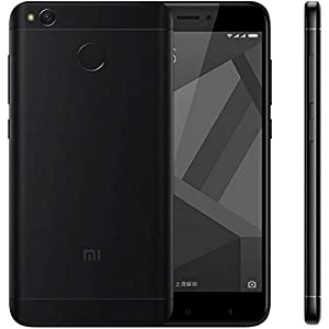 "Xiaomi Redmi 4X Smartphone 5"" 4G 32GB Doble Sim, Con Google Play [Version Europea] Negro"