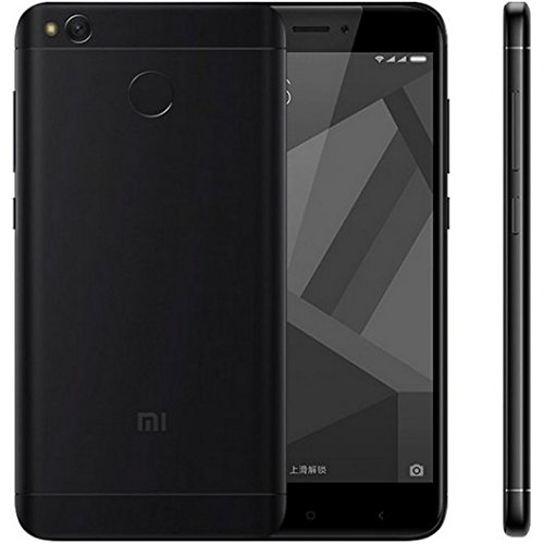 Xiaomi Redmi 4X Smartphone 5' 4G 32GB Doble Sim, Con Google Play [Version Europea] Negro