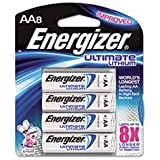 E2 Lithium Batteries, Aa, 8 Batteries/pack By: Energizer