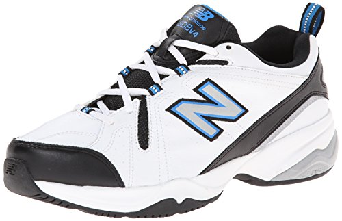 New Balance Men's MX608V4 Training Shoe White/Royal Blue