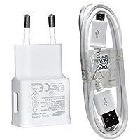 Samsung ETAU90EWE 2 Pin Charger with ECB-DU4AWE Data cable