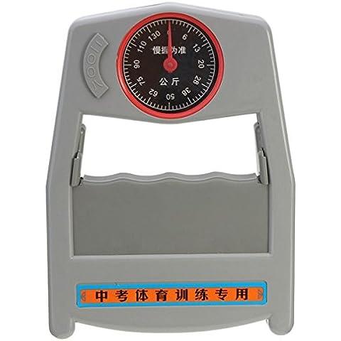 mark8shop Medidor de 0–130Kg dinamómetro la fuerza de agarre Fuerza Evaluación de la herramienta de medición