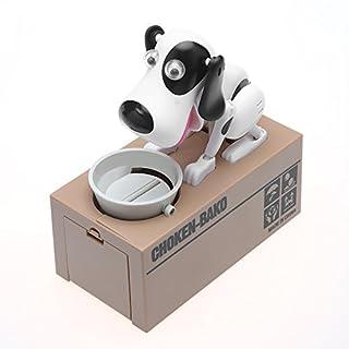 AOZBZ Mechanische Hund Piggy Bank Roboter Essen Münze Sparschwein, Niedlichen Tier Geld Box Automatische Kauen Münze Bank Spardose Spielzeug - Watch It Frisst Ihre Münzen (Typ 2)