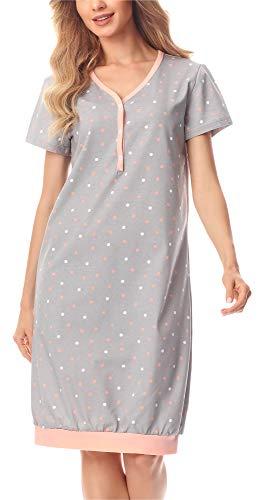Merry Style Camicia da Notte Donna MS10 183
