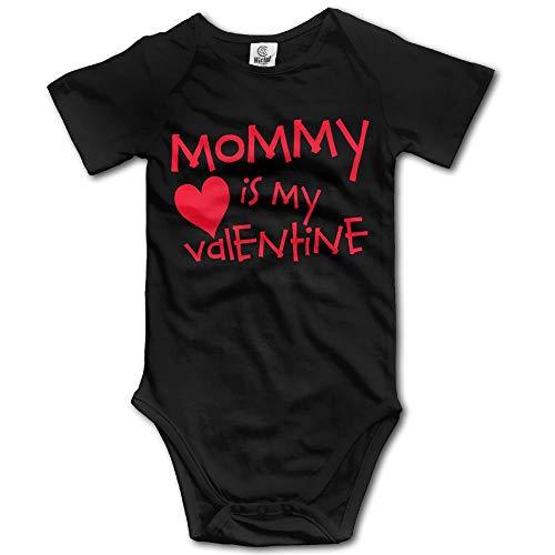 Jamie clanton Kleinkind Klettern Bodysuit Mama ist Mein Valentine Infant Klettern Kurzarm Strampler Jumpsuit Valentine Infant Bodysuit