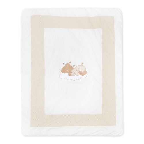 Krabbeldecke und Spieldecke von Sleeping Bear in 5 Farben erhältlich, Farbe:Beige