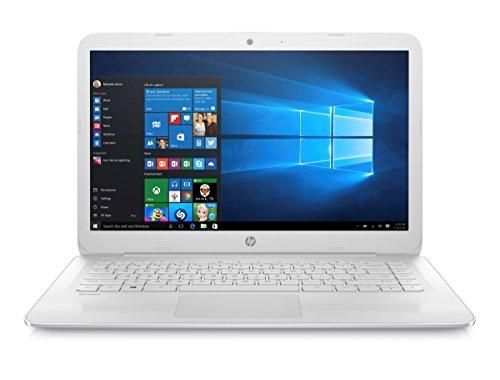 "Foto HP Stream 14-ax010nd 1.6GHz N3060 14"" 1366 x 768Pixel Bianco Computer portatile"
