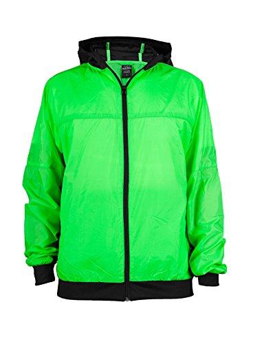 Urban Classics Athletic Vestes randonnées Infrared Vert fluo