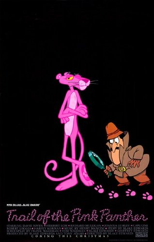 Trail of the Pink Panther Movie Poster (27,94 x 43,18 cm) (Pink Panther Poster)