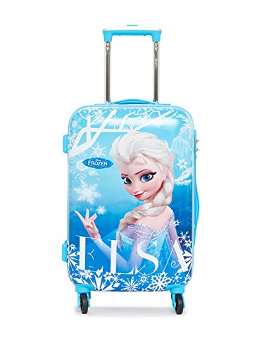 DISNEY FROZEN ELSA BLUE- 20 INCHES CABIN LUGGAGE