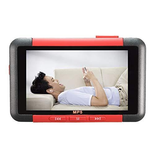 Palm 3.0-Screen Mp5 Portable Mp5 HD Video Recording Pen Radio E-BookRed 8Gb