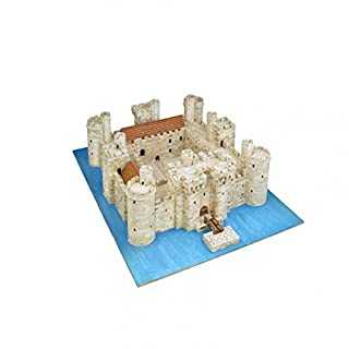 Aedes 1014 Bodiam Castle Model Kit, 37 x 26 x 7 cm, Multi-Color
