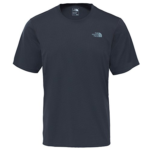 The North Face M Flex S/S EU T Shirt, Herren L Grau (asphalt grey)