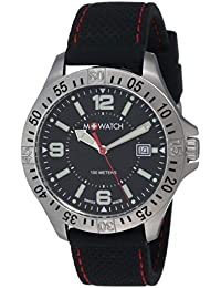 M-WATCH Aqua Steel 42 Analog Black Dial Men's Watch-WBX.44220.RB