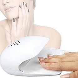 Secador uñas esmalte normal AIRE. COLO ROJO