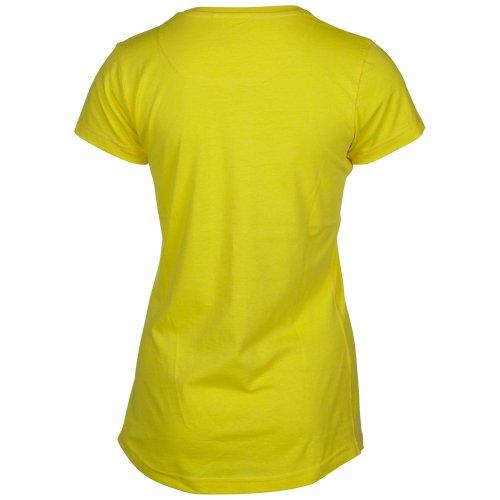 Chiemsee Femme T-Shirt Emma blazing yellow