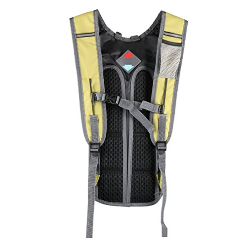 Outdoor Sport Respirabile Piede Di Arrampicata Trekking Zaino Multifunzionale Ultra-leggero Impermeabile,Red FruitGreen
