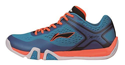 Li Ning AYTM039-1 Badminton Schuh Flash X Men Blue Gr.44 1/3 -US 10,5-280